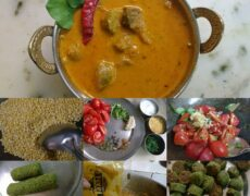 Green Gram Spinach Ke Gatte By Somya Gupta