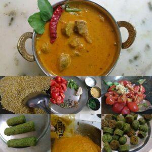 Green Gram Spinach Ke Gatte By Somya Gupta