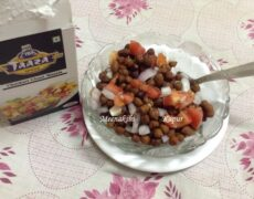 Chatpata Kaale Chana Chaat