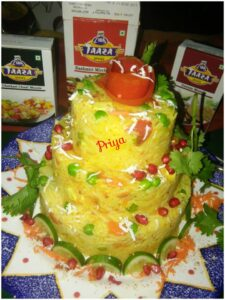 Spicy Rice Cake By Priya Vicky Garg