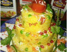 Spicy Rice Cake By Priya Vicky Garg