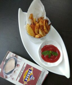 Garlicky Potato Fries By Ruchika Vineet Sapra